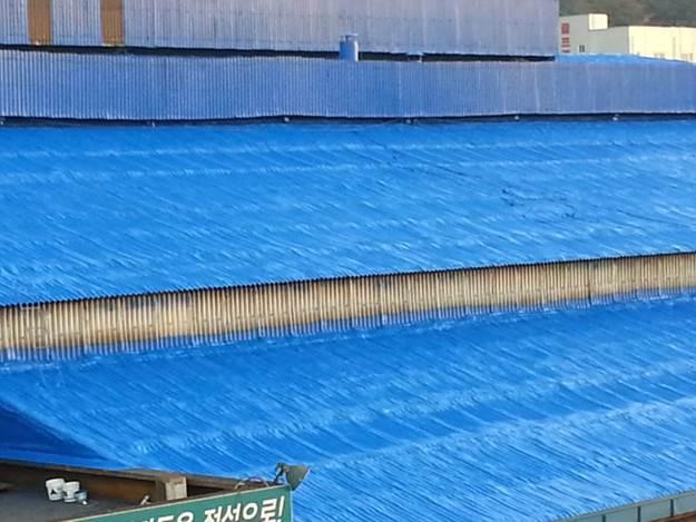 지붕우레탄폼준공